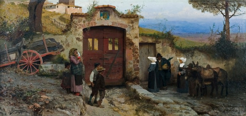 bringing comfort and help. 1885. Henryk Semiradsky