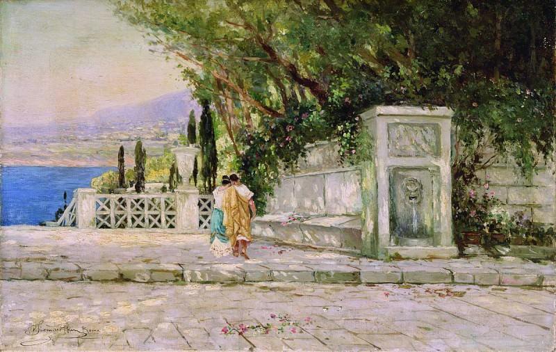 Римский пейзаж. Генрих Ипполитович Семирадский
