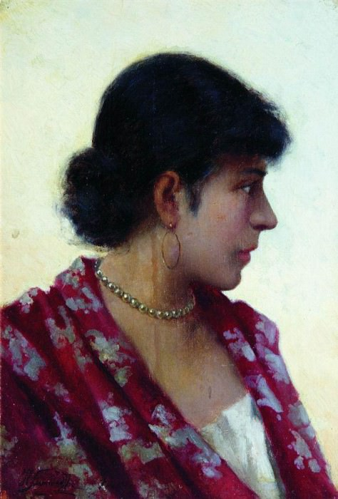 Portrait of an Unknown. Henryk Semiradsky