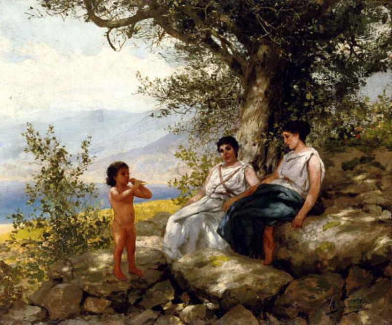 Little Orpheus. Henryk Semiradsky