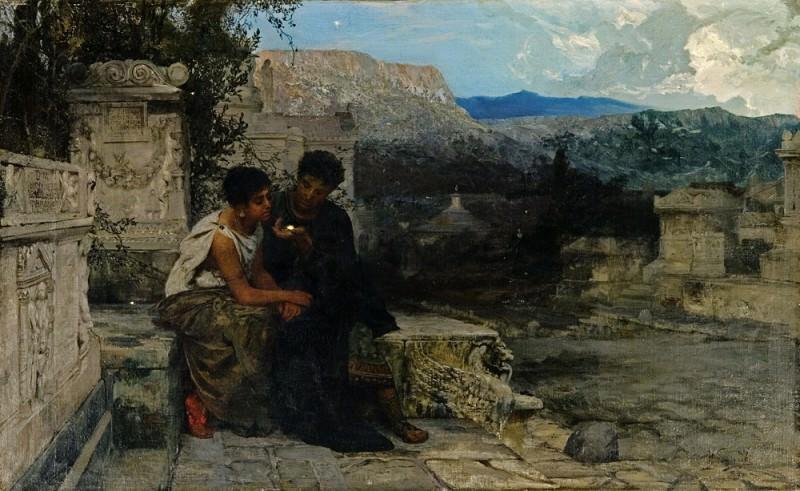 Night at Pompeii. 1879. Henryk Semiradsky