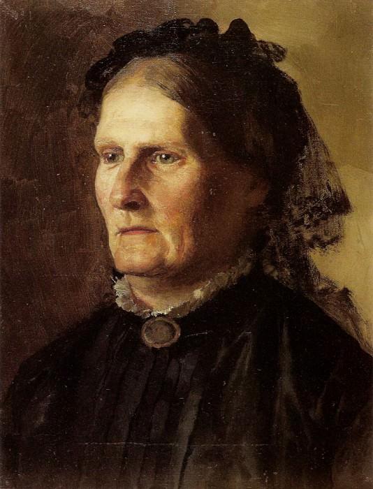Портрет матери художника. 1887. Генрих Ипполитович Семирадский