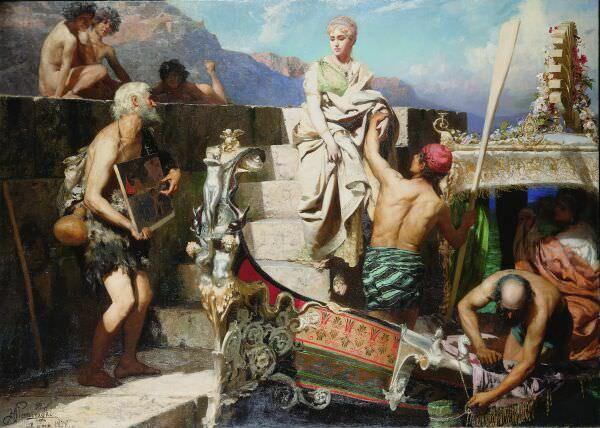 Отъезд Катерины Корнаро, королевы Кипра. 1878. Генрих Ипполитович Семирадский