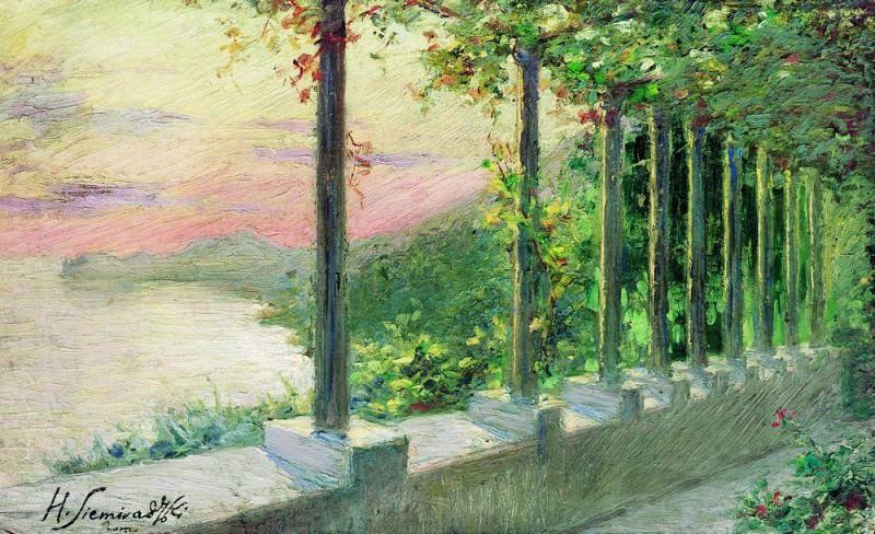 Итальянский пейзаж. Генрих Ипполитович Семирадский