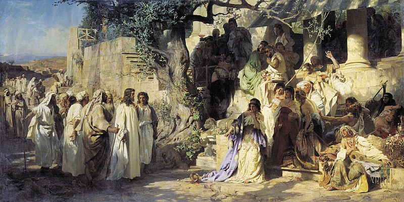 Sinner. 1873. Canvas. Henryk Semiradsky