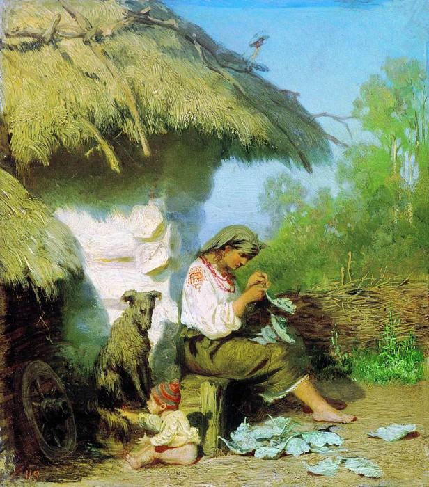 Rural idyll. 1886. Henryk Semiradsky
