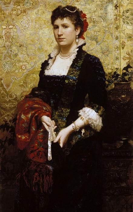 Принцесса Мария Любомирская. Генрих Ипполитович Семирадский