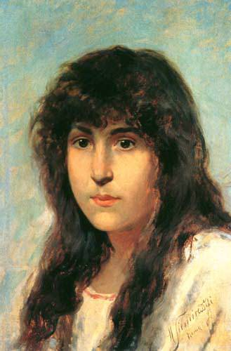 Head girl (sketch). Henryk Semiradsky