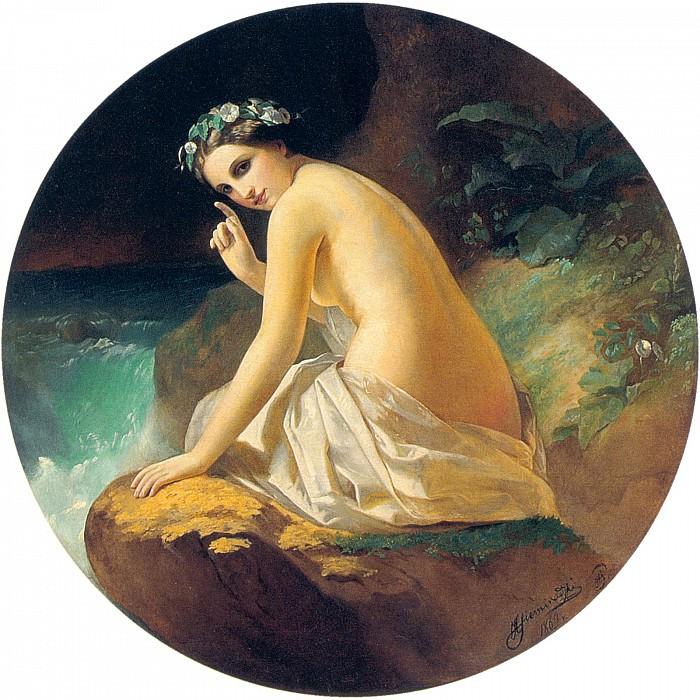 Nymph. 1869. Henryk Semiradsky