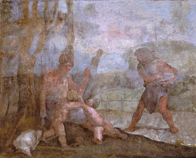 Трудящиеся Адам и Ева. Рафаэль Санти