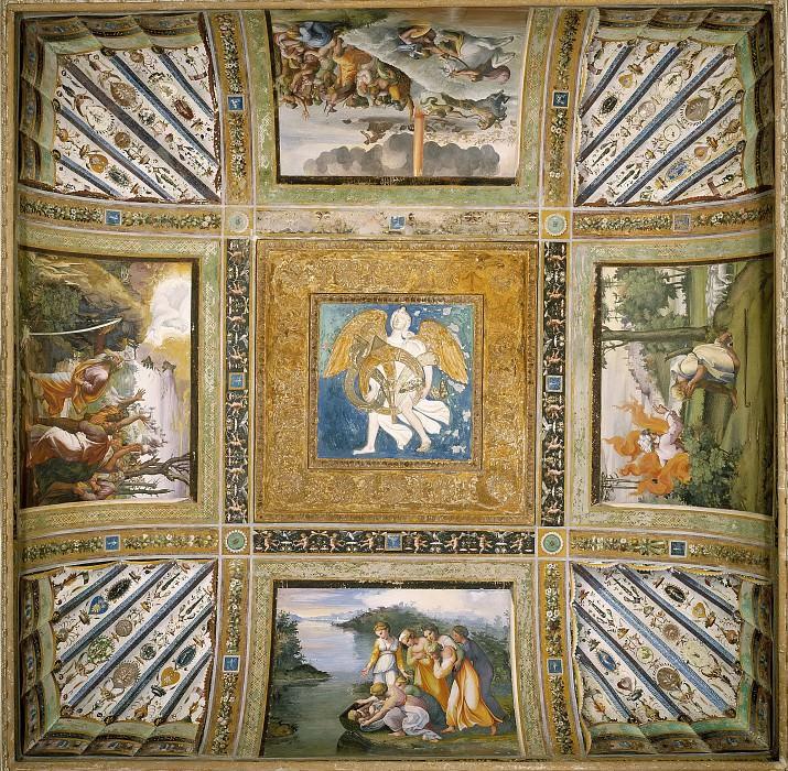 Stories of Moses. Raffaello Sanzio da Urbino) Raphael (Raffaello Santi