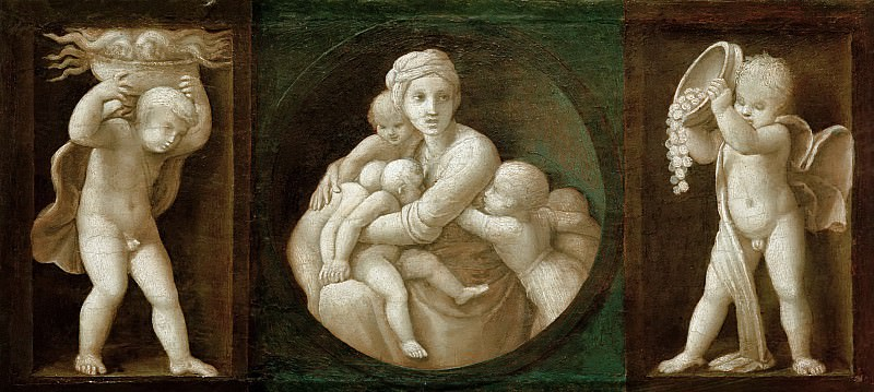 Charity. Raffaello Sanzio da Urbino) Raphael (Raffaello Santi