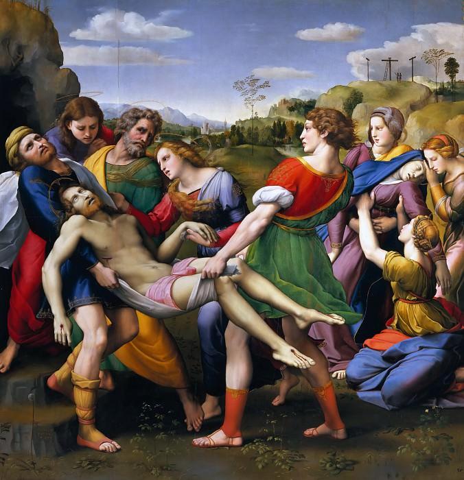 Entombment. Raffaello Sanzio da Urbino) Raphael (Raffaello Santi