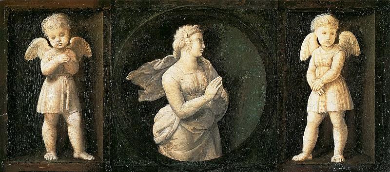 Faith. Raffaello Sanzio da Urbino) Raphael (Raffaello Santi