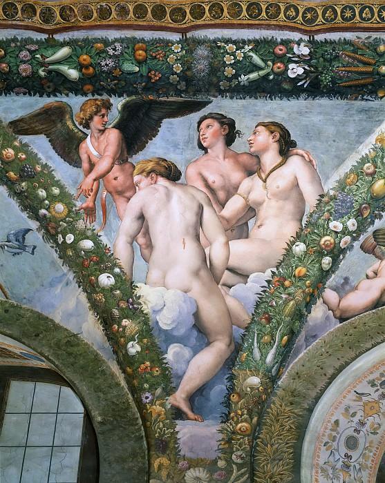 Cupid and the Three Graces. Raffaello Sanzio da Urbino) Raphael (Raffaello Santi