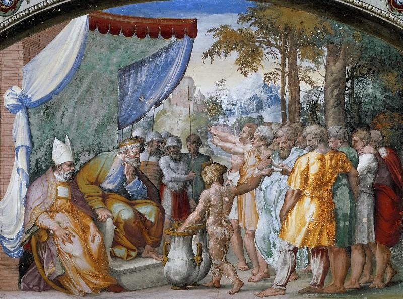 Distribution of Lands. Raffaello Sanzio da Urbino) Raphael (Raffaello Santi
