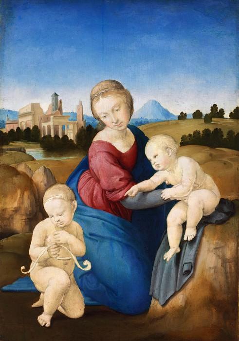 Madonna Esterhazy. Raffaello Sanzio da Urbino) Raphael (Raffaello Santi