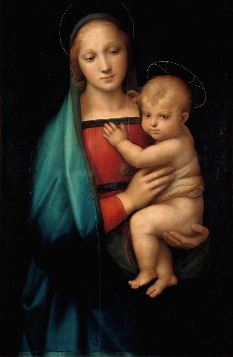 Madonna del Granduca. Raffaello Sanzio da Urbino) Raphael (Raffaello Santi
