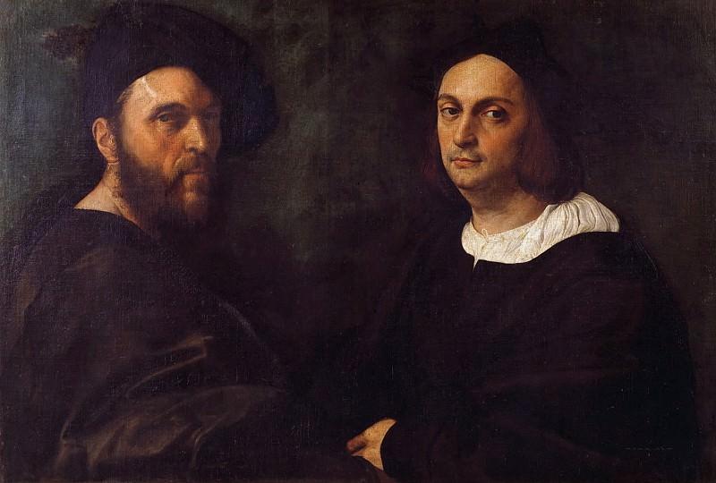 Двойной портрет. Рафаэль Санти