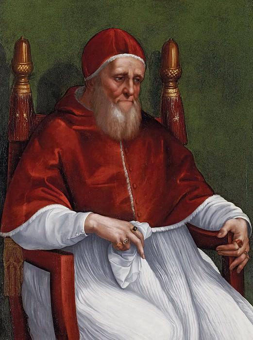 Portrait of Pope Julius II. Raffaello Sanzio da Urbino) Raphael (Raffaello Santi