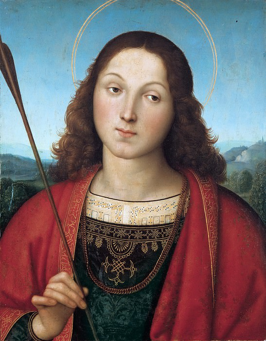St. Sebastian. Raffaello Sanzio da Urbino) Raphael (Raffaello Santi