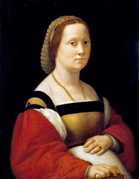 La donna gravida. Raffaello Sanzio da Urbino) Raphael (Raffaello Santi