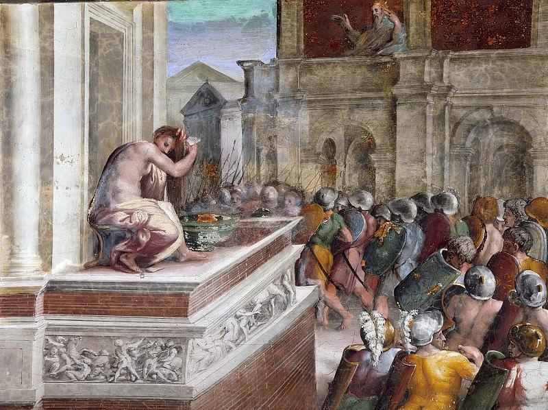 David and Bathsheba. Raffaello Sanzio da Urbino) Raphael (Raffaello Santi