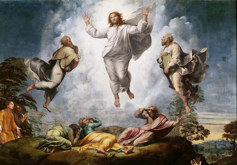 Transfiguration of Christ (fragment). Raffaello Sanzio da Urbino) Raphael (Raffaello Santi