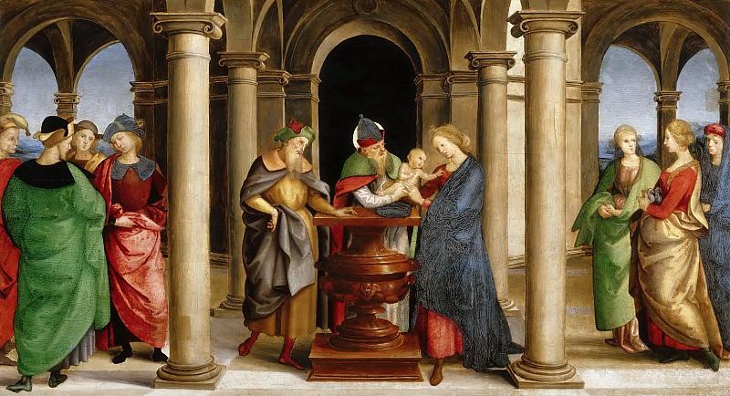 Oddi altarpiece - Presentation in the Temple. Raffaello Sanzio da Urbino) Raphael (Raffaello Santi