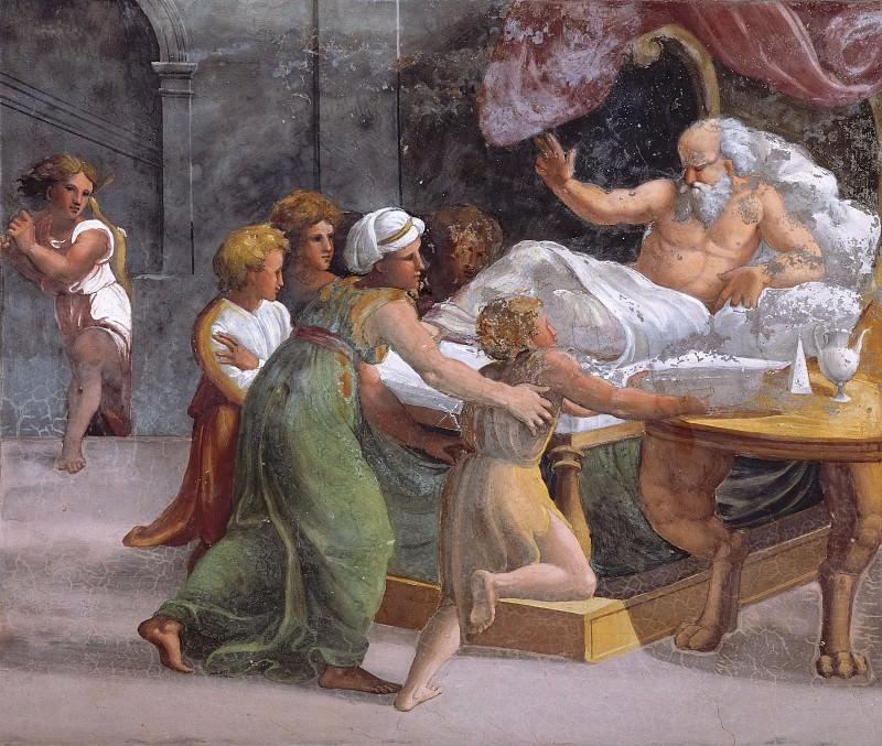 Isaac Blesses Jacob. Raffaello Sanzio da Urbino) Raphael (Raffaello Santi