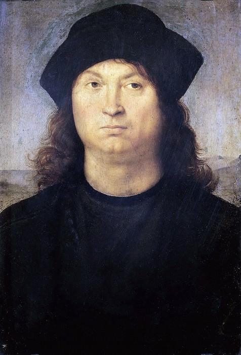Portrait of a Man. Raffaello Sanzio da Urbino) Raphael (Raffaello Santi