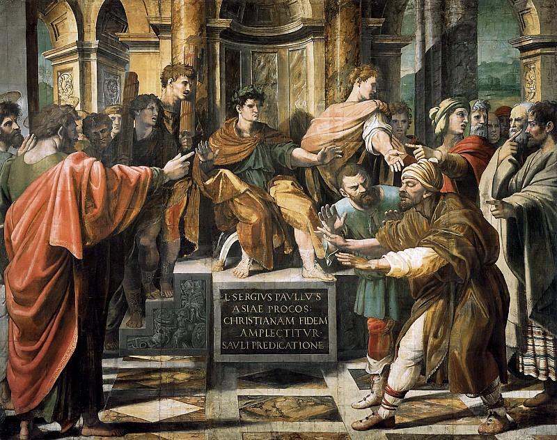 Conversion of Proconsul. Raffaello Sanzio da Urbino) Raphael (Raffaello Santi