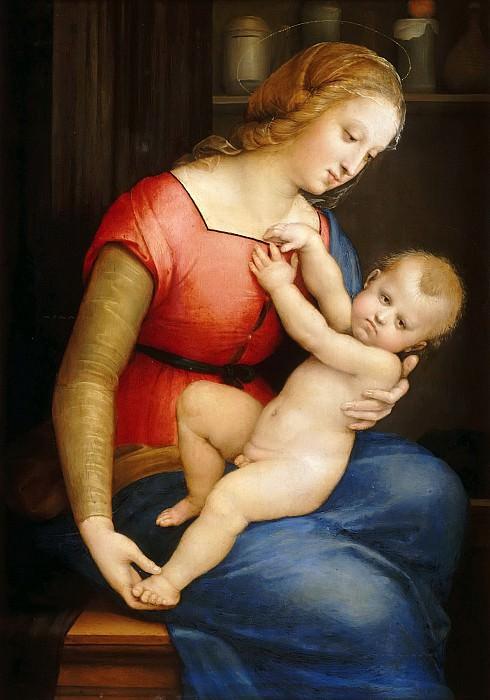 Orleans Madonna. Raffaello Sanzio da Urbino) Raphael (Raffaello Santi