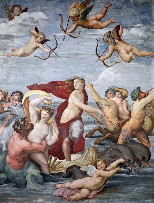Triumph of Galatea. Raffaello Sanzio da Urbino) Raphael (Raffaello Santi