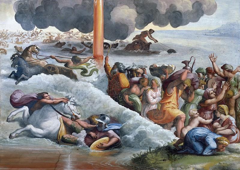 Passage of the Red Sea. Raffaello Sanzio da Urbino) Raphael (Raffaello Santi