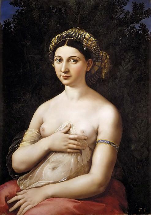 La fornarina. Raffaello Sanzio da Urbino) Raphael (Raffaello Santi