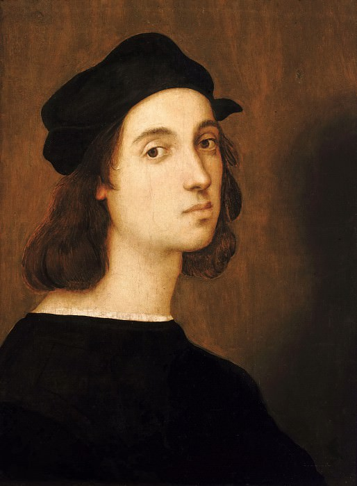 Self-portrait. Raffaello Sanzio da Urbino) Raphael (Raffaello Santi