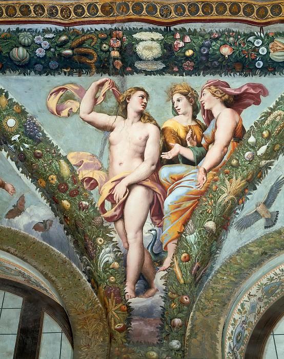 Венера с Юноной и Церерой (мастерская). Рафаэль Санти