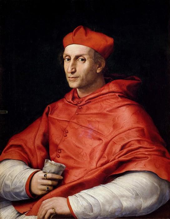 Portrait of Cardinal Bibbiena. Raffaello Sanzio da Urbino) Raphael (Raffaello Santi