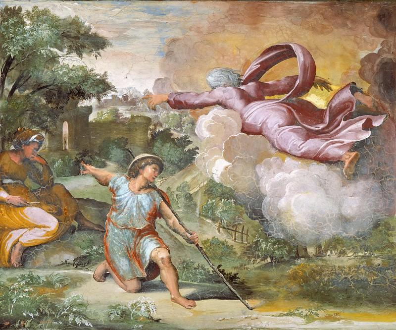 God Appears to Isaac. Raffaello Sanzio da Urbino) Raphael (Raffaello Santi