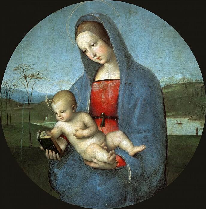 The Madonna Connestabile. Raffaello Sanzio da Urbino) Raphael (Raffaello Santi