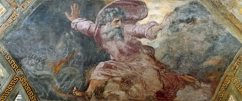 God Separating Light from Dark. Raffaello Sanzio da Urbino) Raphael (Raffaello Santi