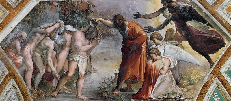 Крещение Христово. Рафаэль Санти