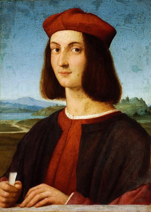 Портрет молодого человека. Рафаэль Санти