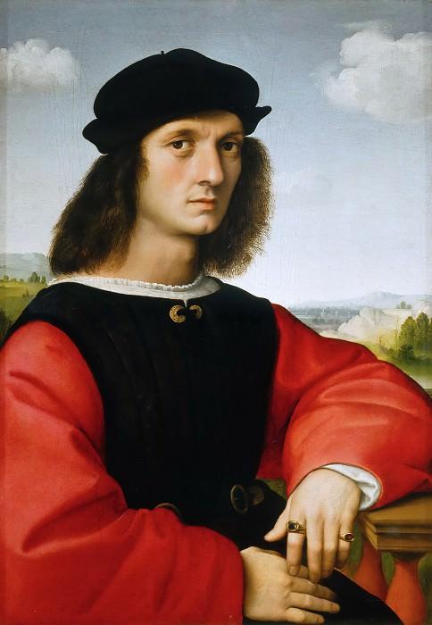 Portrait of Agnolo Doni. Raffaello Sanzio da Urbino) Raphael (Raffaello Santi
