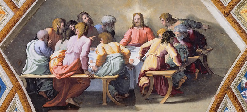 Last Supper. Raffaello Sanzio da Urbino) Raphael (Raffaello Santi