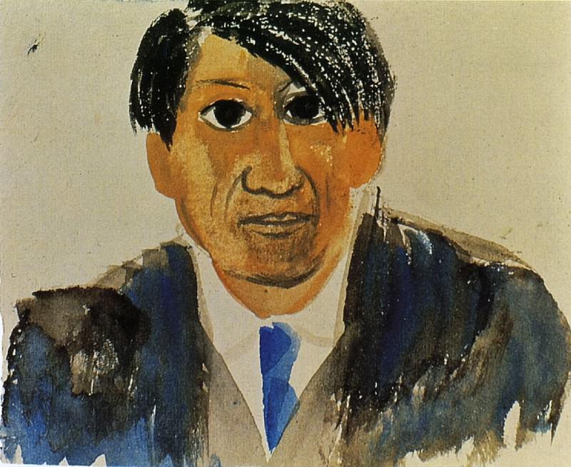1917 Autoportrait1. Pablo Picasso (1881-1973) Period of creation: 1908-1918