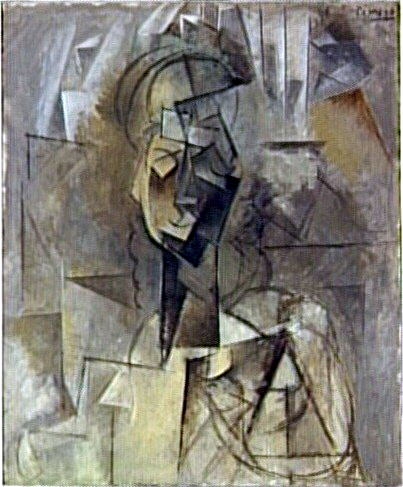 1909 Buste de femme2. Pablo Picasso (1881-1973) Period of creation: 1908-1918