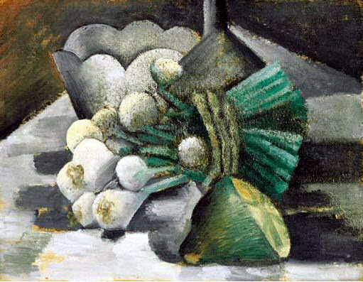 1909 Nature morte aux oignons. Pablo Picasso (1881-1973) Period of creation: 1908-1918