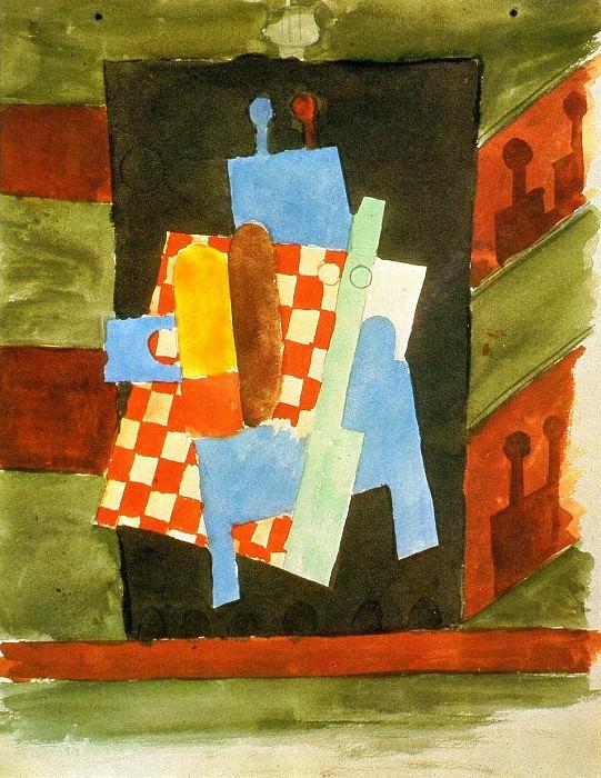 1916 Acteurs et audience dans le thВГtre. Pablo Picasso (1881-1973) Period of creation: 1908-1918